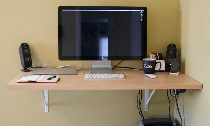 Shelf Standing Desk