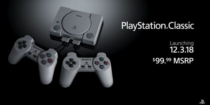 Sony Unveils the List of PlayStation Classic Games