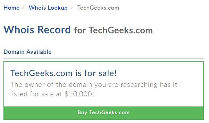 techgeeks for sale