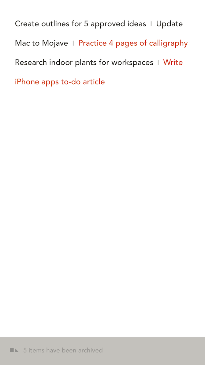 6 Utterly Simple To-Do List Apps for iPhone