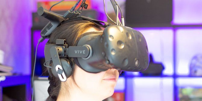 One Step Closer to a Holodeck, with the HTC Vive Wireless VR