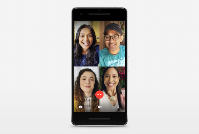 How to make group video calls with Whatsapp