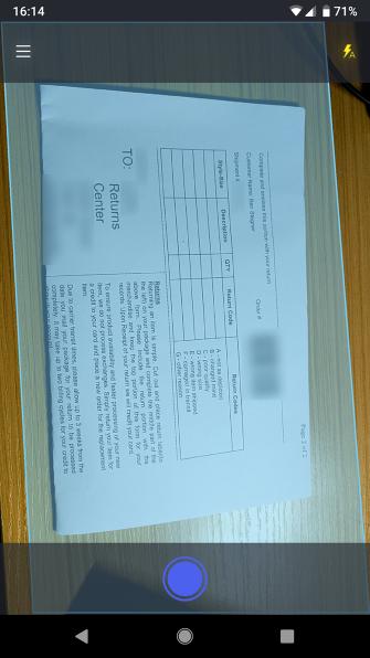 Mit ZipScan können Sie Dokumente in Sekundenschnelle mit Ihrem Telefon scannen