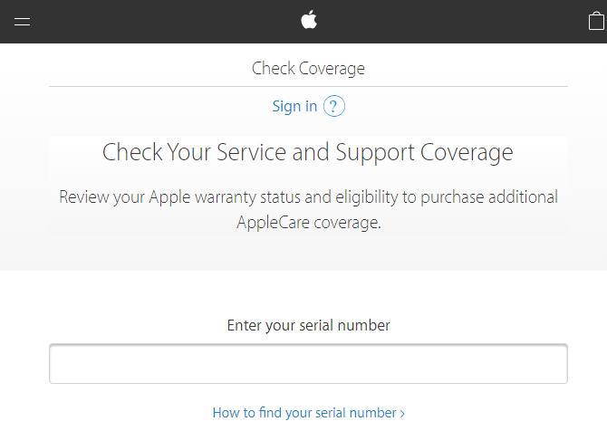 Apple Check Guarantee Cover