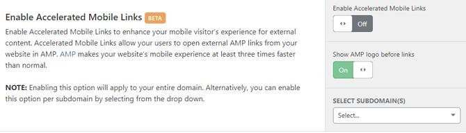 Cloudflare dapat meningkatkan Halaman Seluler yang Dipercepat