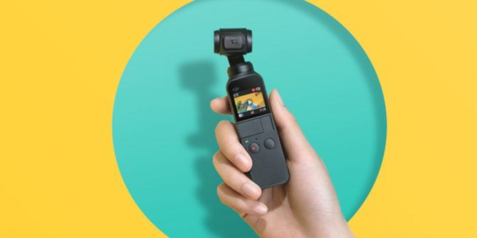 DJI Announces the Osmo Pocket: A 3-Axis Stabilized Handheld 4K Camera