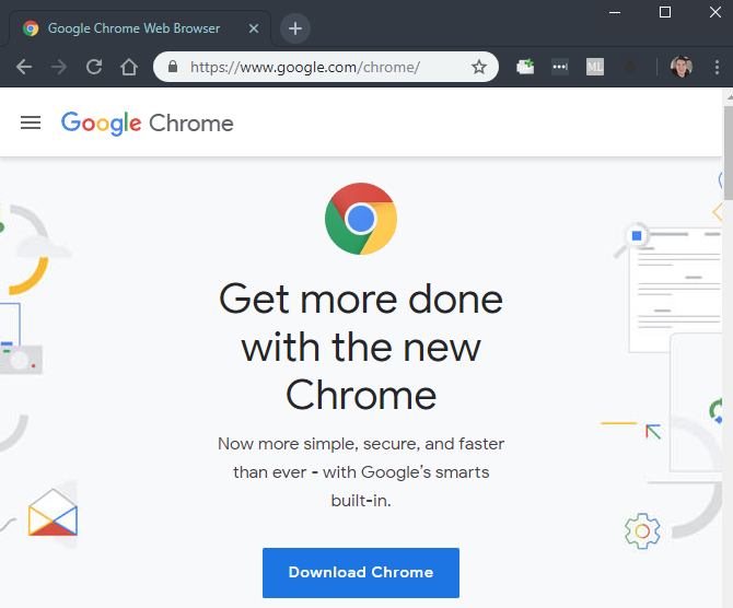 Google Chrome Home