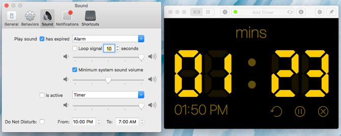 Red Hot Timer su Mac