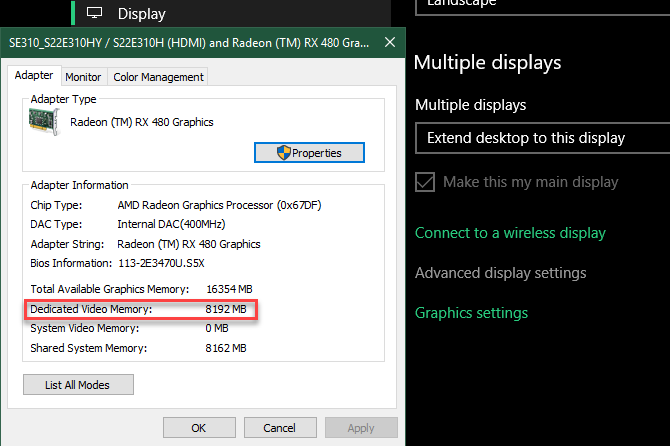 How To Increase Dedicated Video Ram Vram In Windows 10