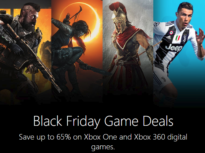Xbox One Black Friday Digital
