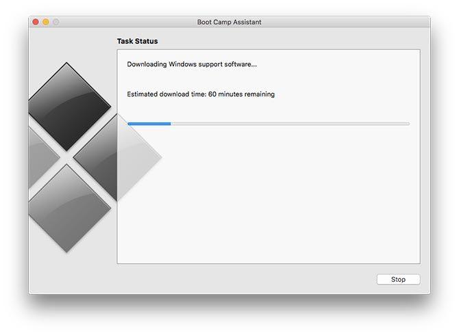 Boot Camp Assistant تنزيل برامج التشغيل