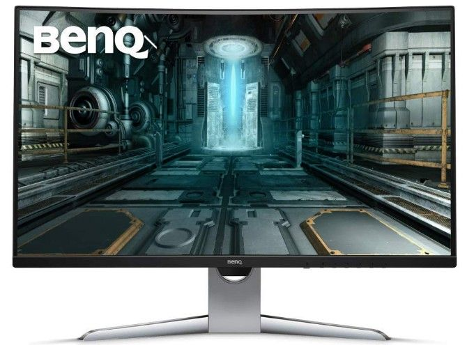 benq ex3203r is the best cheap gaming monitor with hdr and a curved screen