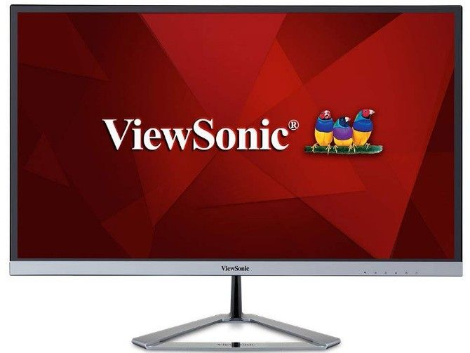 viewsonic vx2476 is the best cheap gaming monitor with an ips panel