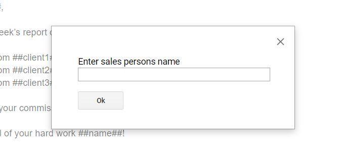 google doc prompts