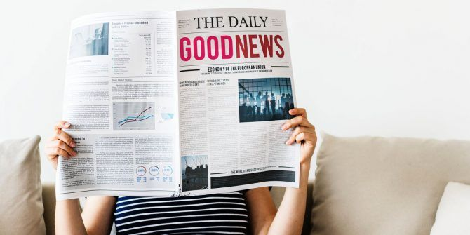 Good News! 5 Places to Read or Hear Positive and Uplifting News