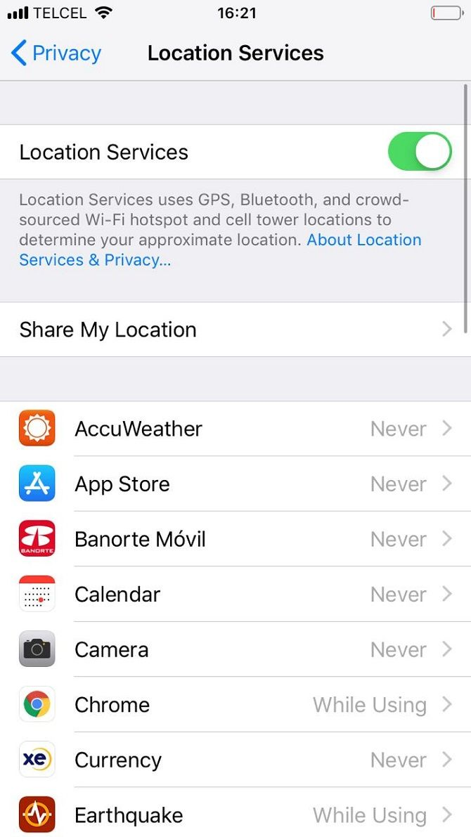 Iphone Tips Smart Technology Circuits 8085 Projects Blog Archive Analog Cricket Sounds Circuit To Disable Location Services On Your Follow These Steps