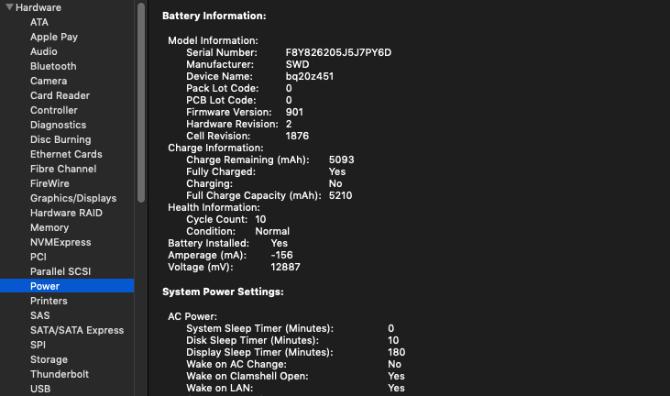 Mac Battery Check Cycles