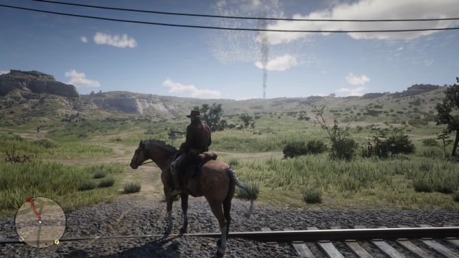 red dead redemption 2 surroundings