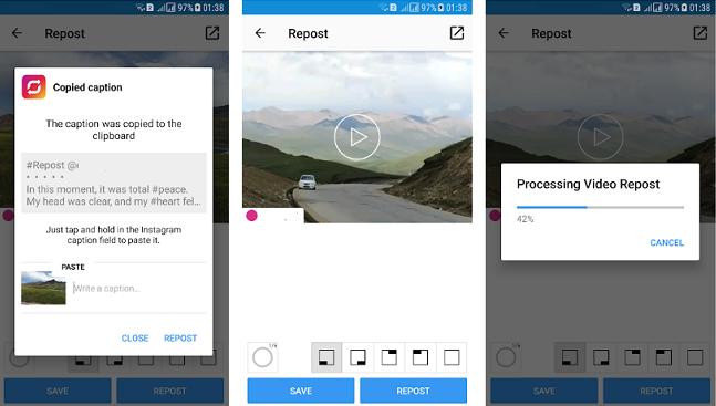 Repost it! For instagram для андроид скачать apk.