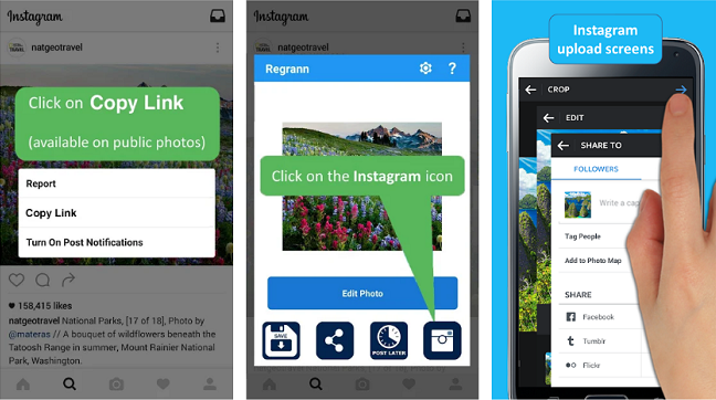 Скачать repost for instagram 3. 2. 7 для android.
