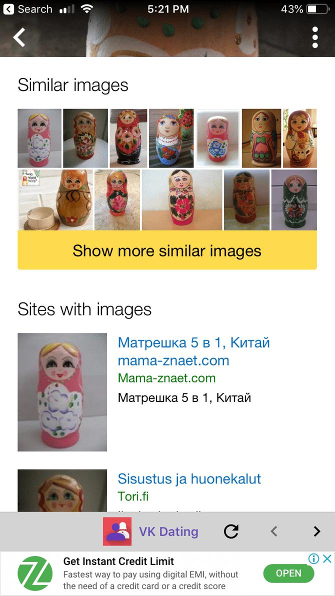 Free reverse image search ipad