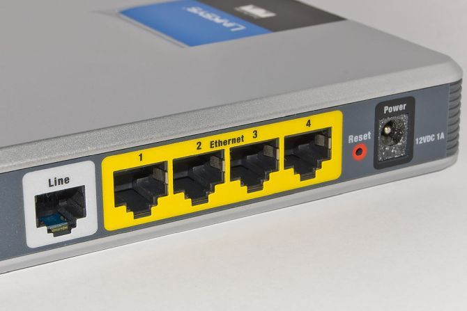 router ethernet ports