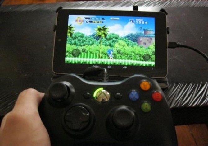 Pengontrol Xbox 360 via USB untuk android