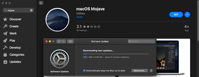 How to Install macOS From USB Mojave-download-installer