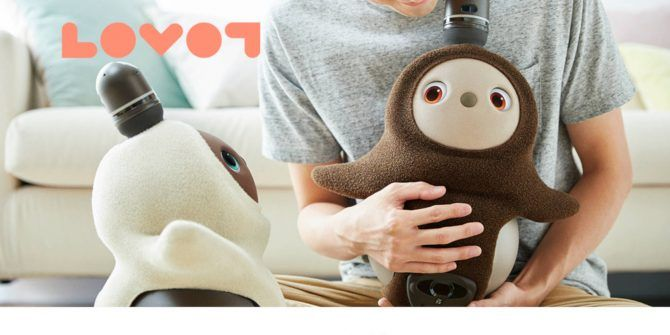 Lovot Might Be the Cutest, Snuggliest Robot Ever