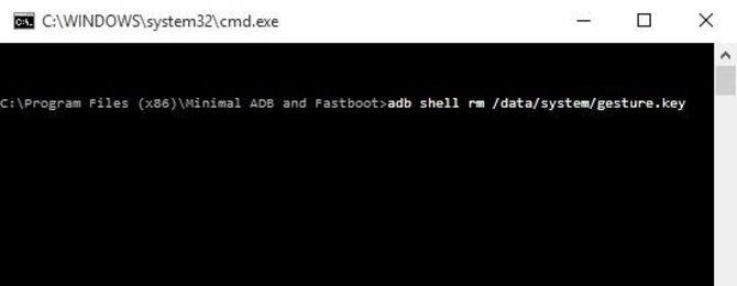 adb directory بازیابی رمز عبور فراموش شده در اندروید - ۵ روش تست شده