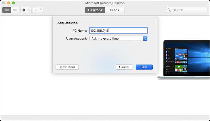 add desktop mac