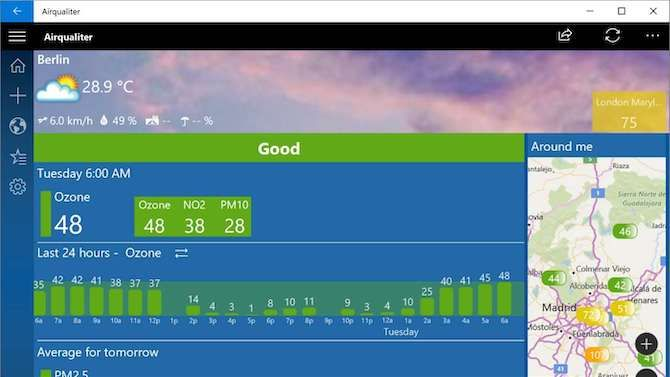 Airqualiter Windows App