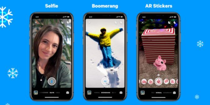 Facebook Messenger Adds New Camera Tricks