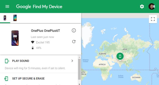 google find my mobile website بازیابی رمز عبور فراموش شده در اندروید - ۵ روش تست شده