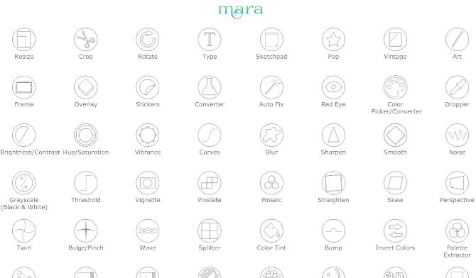 Mara Photos has a host of free image editing tools online