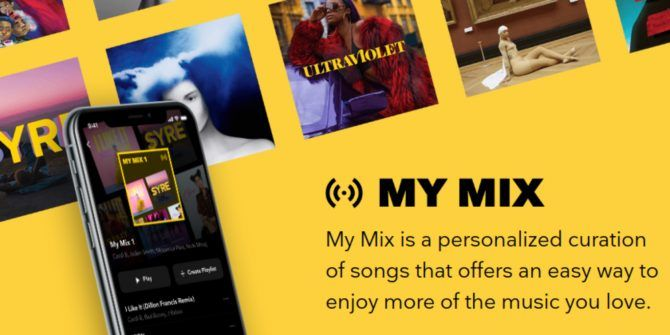 "Tidal Launches Curated ""My Mix"" Playlists"