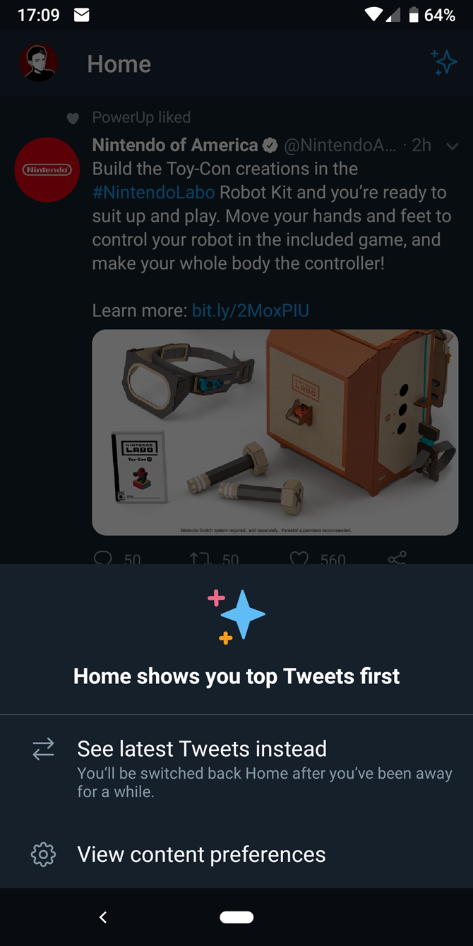 How to Switch to a Chronological Twitter Timeline