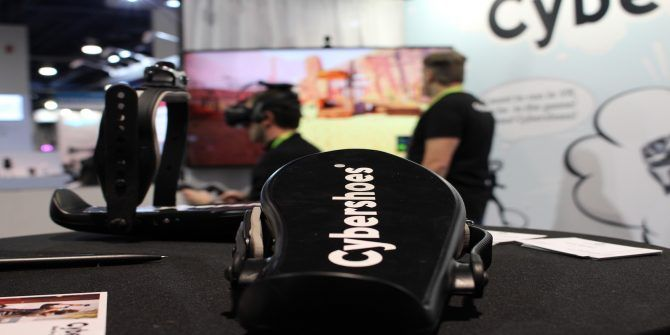 Cybershoes Lets You Control VR Games With Your Feet