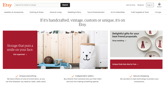Etsy Screenshot