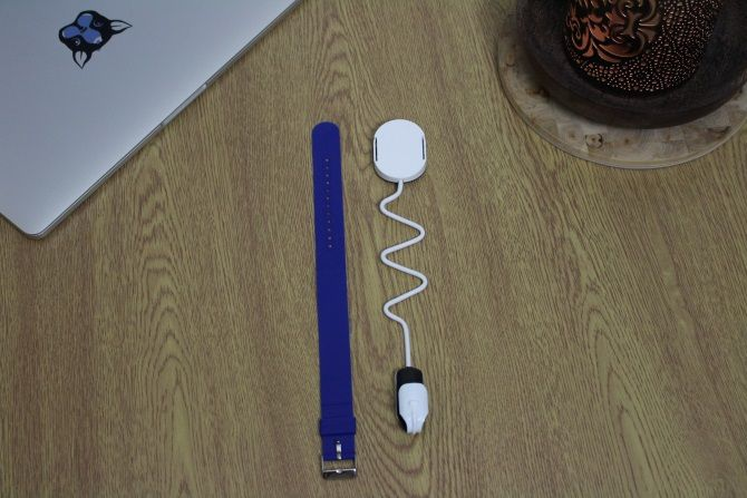 Photo of EverSleep highlighting strap length