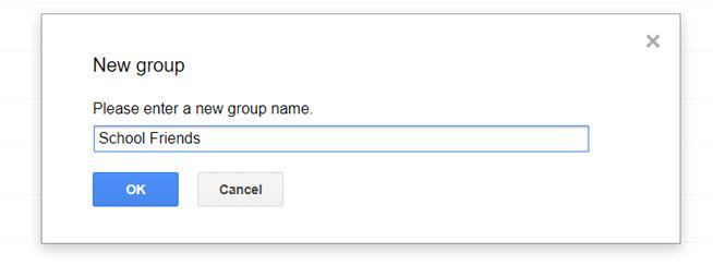 Name this email group.