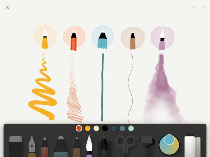 Carta di WeTransfer Apple Pencil Doodling