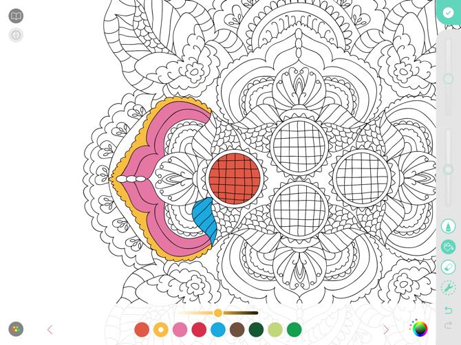 Pigment Apple Pencil Coloring App