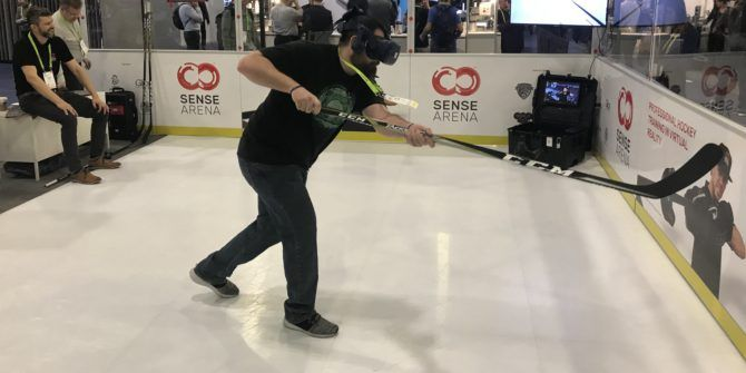 Sense Arena Is the Virtual Reality Hockey Trainer That'll Blow Your Mind