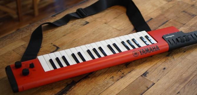 Yamaha's Sonogenic Keytar Can Turn Anyone Into a Party Musician