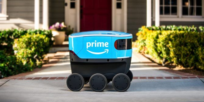 Amazon Tests a Delivery Robot Called Scout