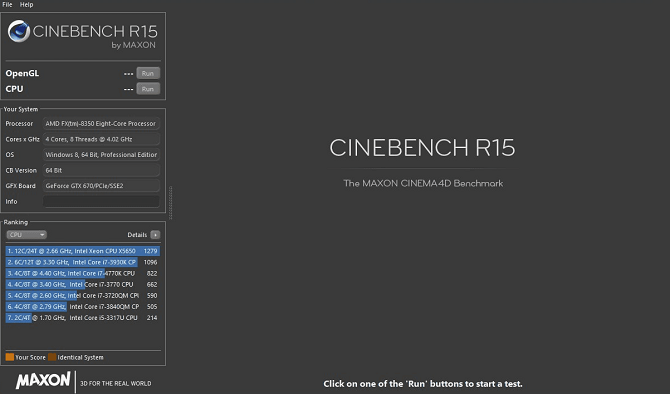 cinebench benchmark app
