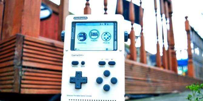Build Your Own Retro Gaming Handheld With ClockworkPi GameShell