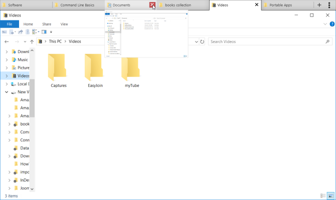 group tabs of file explorer with groupy