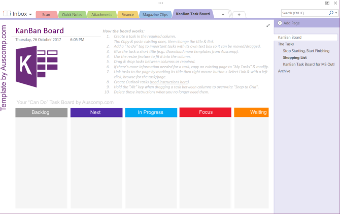 6 tips for using onenote as your to